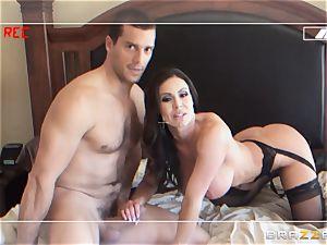 cuckold wife Kendra fervor is made to pummel her boy on camera