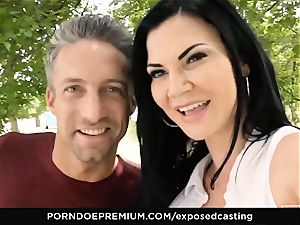 revealed audition Jasmine Jae humped in sizzling casting