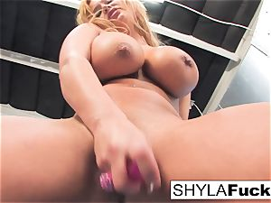 Shyla gives you a wonderful strip and solo