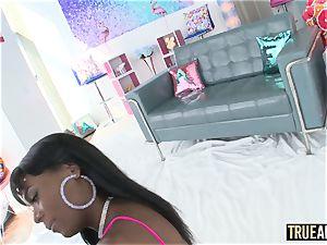 TRUE anal invasion bootie penetrating killer ebony stunner Ana Foxxx