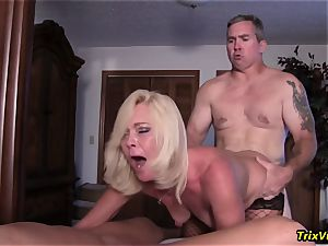 gang tear up the Stripper with Ms Paris Rose