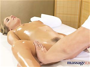 rubdown rooms anal invasion creampie banging for super-hot babe