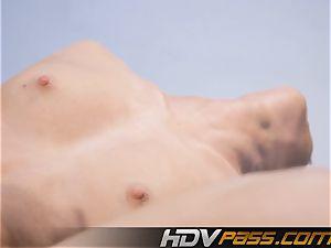 HDVPass Back bending, gam opening up hookup moves!