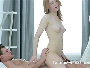 wonderful ginger-haired wants your jizz on her face