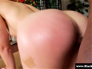 Ginger honey Jodi Taylor humped from behind