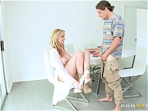 Julia Ann gives her some unforgettable lovemaking lessons