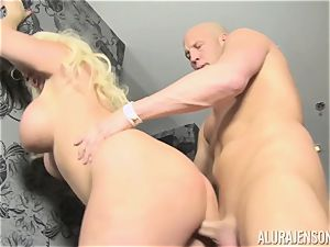 blondie mummy Alura Jenson decides to cheat on her hubby