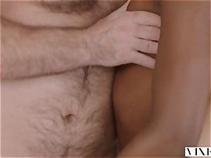 VIXEN Riley Reid has heavy three way with Ana Foxxx and bf