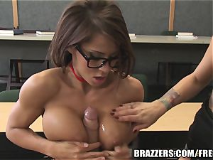 Brazzers - Madison in hot school 3some