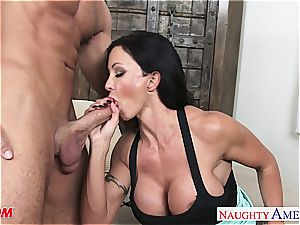 super-steamy mom clits Jade takes his phat full salute for a ride