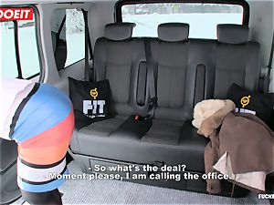 LETSDOEIT - Czech slut Tricked and banged By taxi Driver