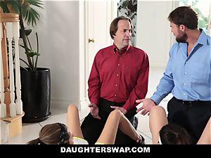 DaughterSwap - super hot daughters Get spread