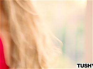TUSHY Nicole Aniston first anal, yam-sized gapes!