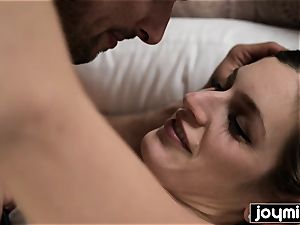 JOYMII super-steamy morning penetrate with nasty Alice B