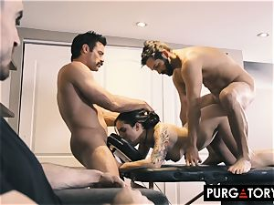 PURGATORY I let my wifey pound 2 studs in front of me