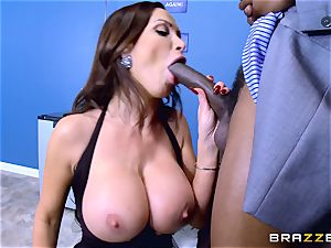 Elections and giant dark-hued trunk erections for Nikki Benz