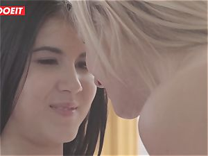 LETSDOEIT - wild lesbian teenagers Get mischievous At The Gym