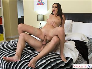 Olivia Nova - cheating wifey torn up rock hard