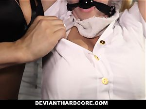 DeviantHardcore submissive school doll Gets instructed