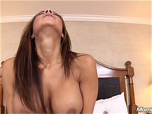 steaming Latina first-timer cougar first-ever timer