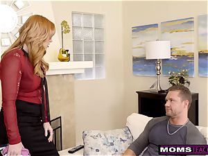 mom Helps daughter train Step step-brother A Lesson S9:E9