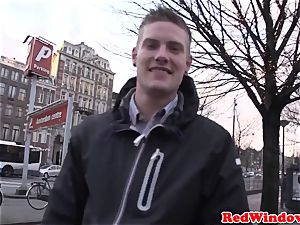 plus-size amsterdam whore plowed by customer