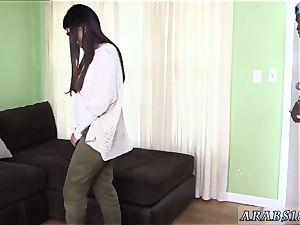 Jenny deep throat Mia Khalifa attempts A humungous ebony salami
