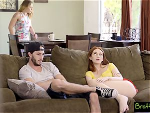 Bratty sister - eyeing TV, Caught smashing My StepSister