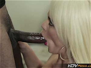 HDVPass thick funbag Nurse Alexis Ford rails trouser snake