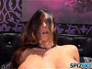 Spizoo-Watch Alison Tyler nailing a humungous cock humungous jugs