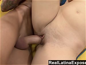 RealLatinaExposed Brazen Latina gets a thick