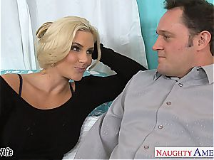 hot wife Phoenix Marie gets pink snatch humped