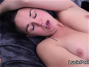 inexperienced lesbo bombshells get their open up beavers licked and banged