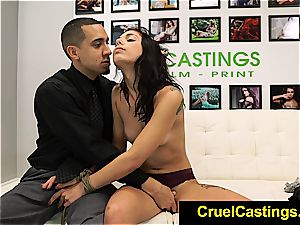 jaw-dropping Gina Valentina confined and dominated