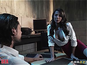 Madison Ivy does anything to get the job
