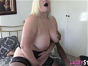 grannie Gets Her Pretty bootie smashed by dark-hued hard-on