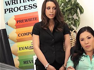 professors London Keyes and Jade Nile fuck a students father