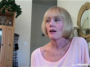 plumbed Up nail fantasy With first-timer GILF