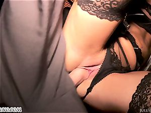 Romi Rain - incredible sizzling fledgling pornography in the street