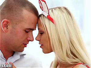 DaringSex hot blonde Nurse passionately ravaging