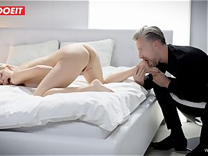 LETSDOEIT - Russian babe Gets nailed stiff By Her lover