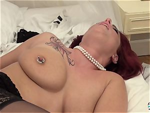 La Cochonne - inexperienced French red-haired in sloppy buttfuck pulverize