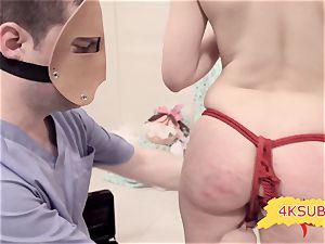 string and buttfuck bondage & discipline porn