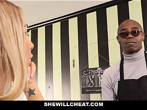 SheWillCheat - mega-slut wifey Cheats With bbc