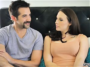 Spizoo - observe Chanel Preston throating and screwing