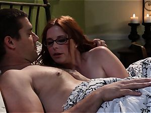 shy waitress Penny Pax pulverizes her desire customer