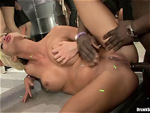 Bibi Fox with hotty mates filled with super-fucking-hot cum