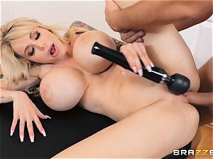 romping the vag of insatiable large FF tits Danielle Derek