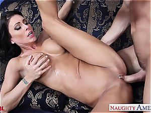 special Jessica Jaymes blows and humps his gigantic member