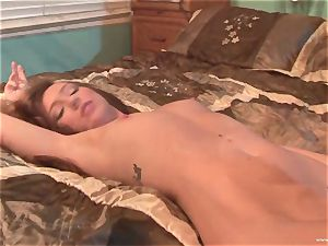 Maddy OReilly gets her gullet packed with phat cum